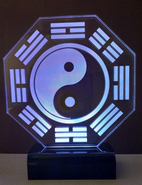 Luminária Led Feng-Shui