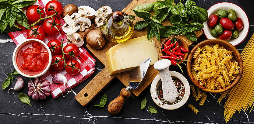 12411480-Italian-food-ingredients-with-O