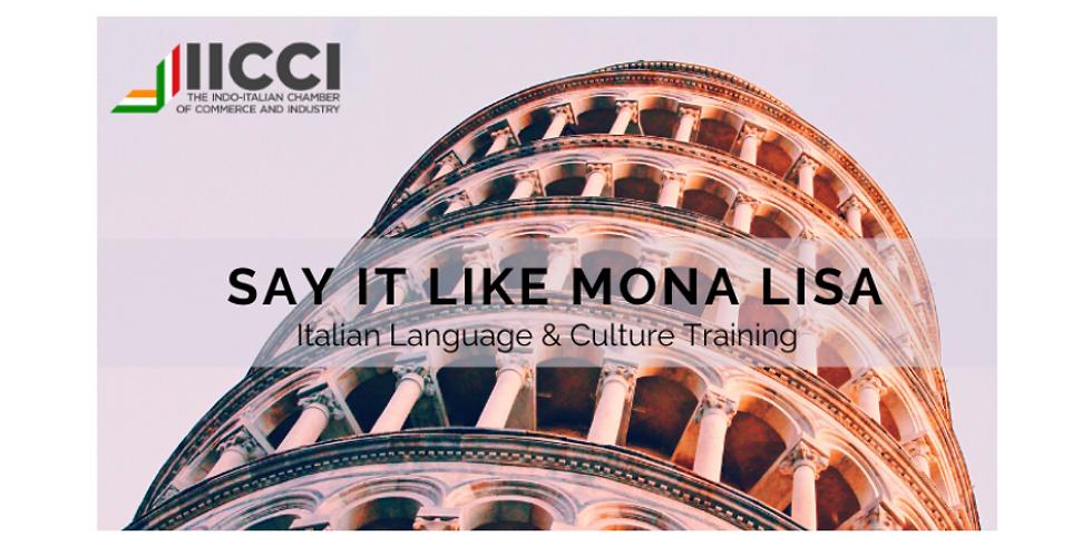 Italian Language Training Program for Level One in India