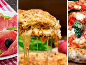 Prosciutto di Parma PDO, Neapolitan Pizza, Lasagna on the World's 50 best foods list 2020