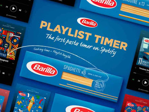 Italy's Barilla Starts a Spotify Playlist for a Perfectly Cooked Pasta