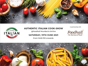 """""""The Authentic Italian Cook-Show"""""""
