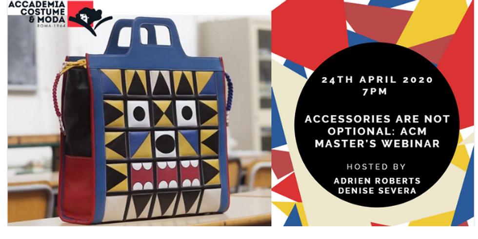 Accademia Costume & Moda : Master's Webinar