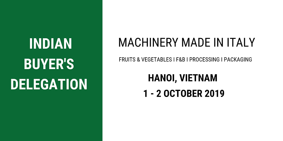 Indian Food Processing Mission to Vietnam
