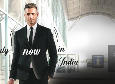 Italian luxury menswear brand Moda Biella enters the Indian Market
