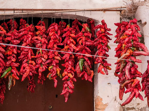 Crusco Peppers: the Red Necklaces of Basilicata Towns