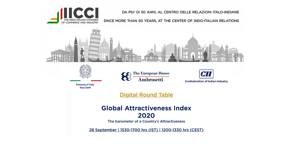Digital Round Table on Global Attractiveness Index 2020