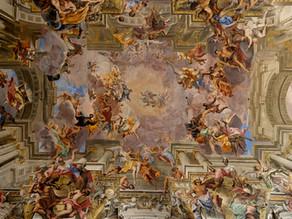 Baciccio's Triumph of the Name of Jesus & Andrea Pozzo's St. Ignatius in Glory