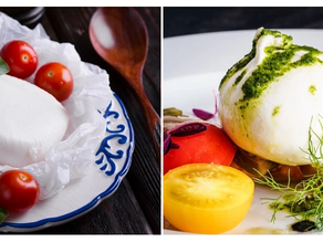 What's the Difference Between Mozzarella and Burrata?