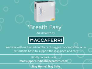 L'iniziativa CSR di Maccaferri India 'Breath Easy' verso la cura del COVID