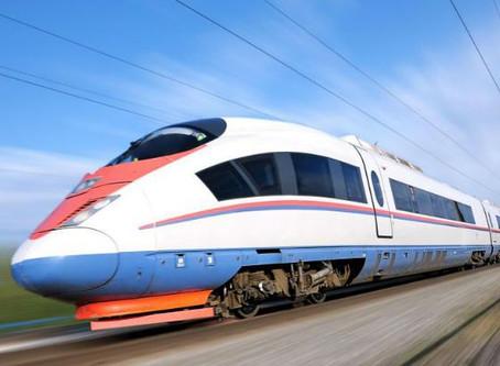 8 billion EUR 'Silver Line': Semi HSR double-track green railway corridor has been approved