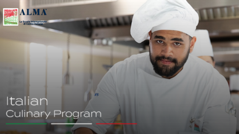 Join the Virtual Open Day to learn more about ALMA's Italian Culinary Program