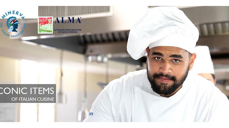 """""""Iconic Items of Italian Cuisine"""" by ALMA - La Scuola Internazionale di Cucina Italiana"""