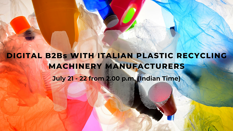 MAKE in INDIA with ITALY - Online digital B2Bs With Italian Plastic Recycling Machinery Manufacturers