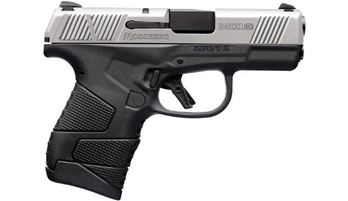 Пистолет Mossberg MC1sc Stainless Two-Tone w/ Cross Bolt Safety