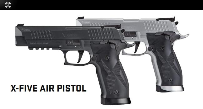 Пневматические пистолеты Sig Sauer X-Five ASP
