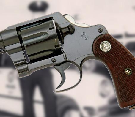 Боевой револьвер Colt Fitz Special