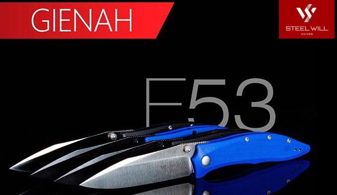 складной нож с клинком из стали D2