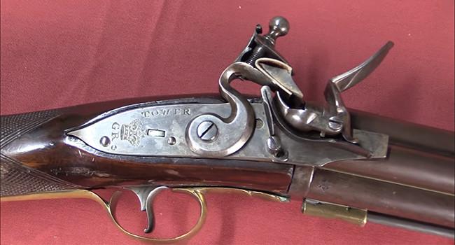 Залповое семиствольное ружье Нока