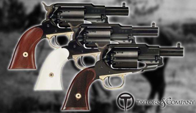 линейка револьверов Taylors 1858 The Ace