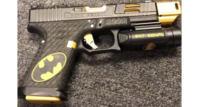 пистолет Alpha Laser Engraving Bat Glock