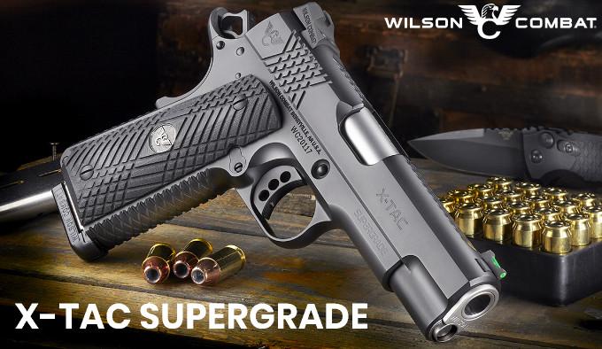 Пистолет Wilson Combat X-TAC Supergrade