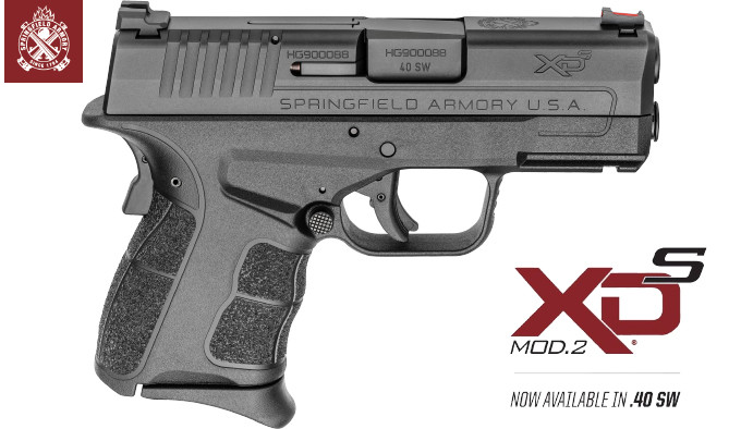 Пистолет Springfield Armory XD-S Mod.2 .40 S&W