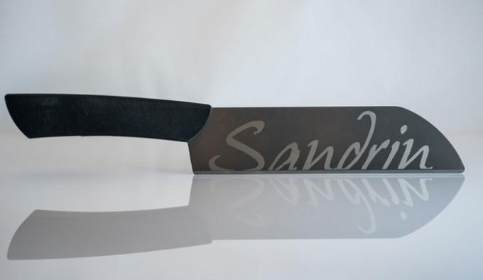 Нож Sandrin Nakiri из карбида вольфрама