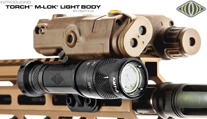 корпус фонаря для совместной работы с лазерным целеуказателем