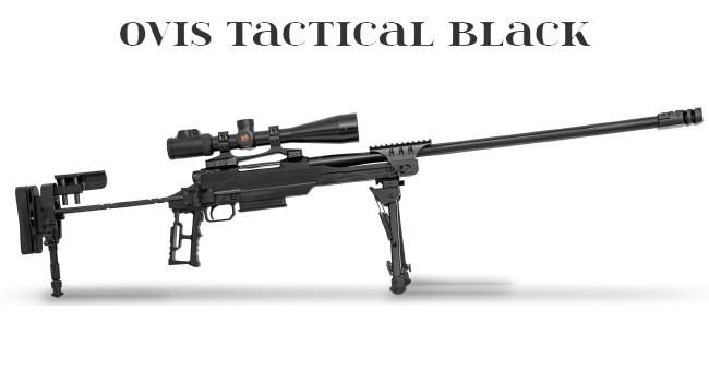Винтовка Huglu OVIS Tactical Black