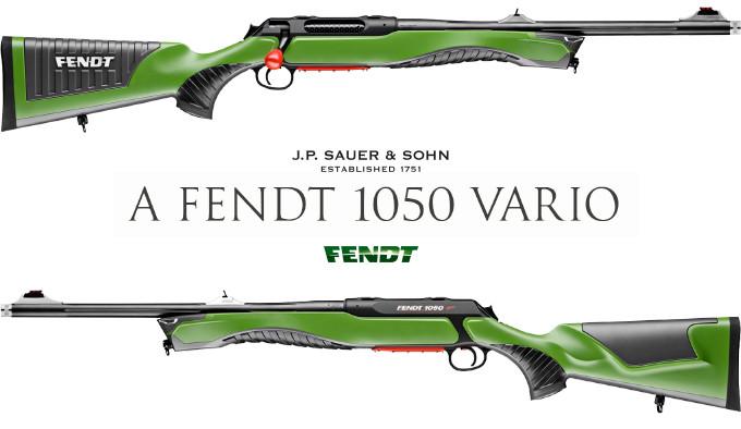 Винтовка Sauer S 404 Fendt 1050 Vario
