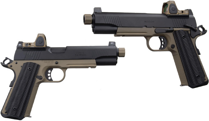 Пистолет Ed Brown SOCOM