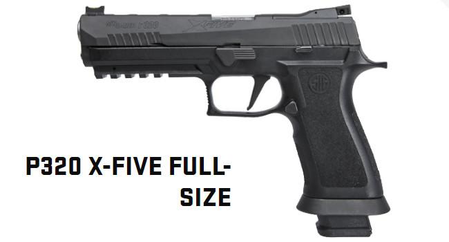 спортивный огнестрельный пистолет X-Five Competition