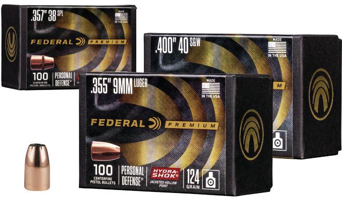 Пули Federal Hydra-Shok для снаряжения патронов