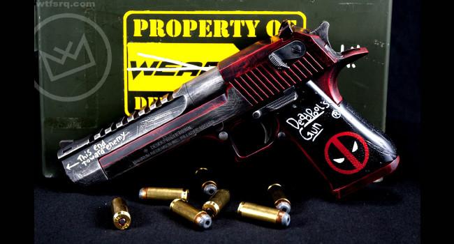пистолет WTF Deadpool Deagle