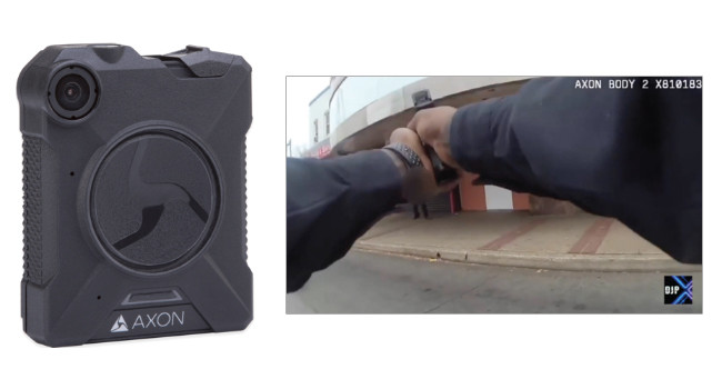 нательная камера Axon