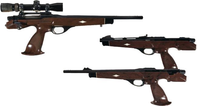 Пистолетная винтовка Remington XP-100