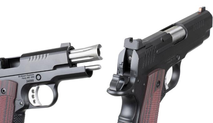Пистолет Ed Brown CCO9 Lightweight