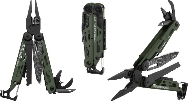 мультитул Leatherman Signal Green