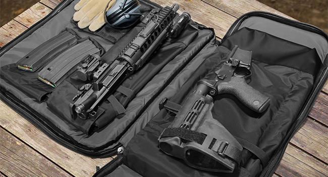 полностью раскрытый рюкзак CB Takedown Firearm Gen3