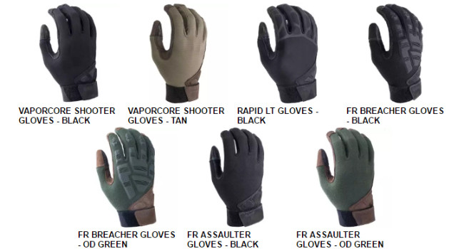 перчатки Vertx
