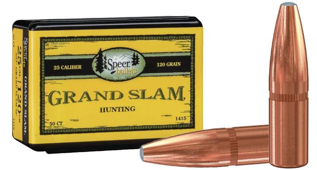 Новые пули Speer Grand Slam