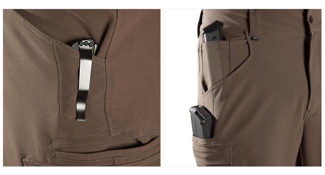 карманы штанов TD Logan