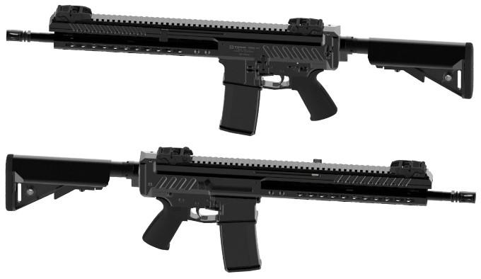 Словенская самозарядная полуавтоматическая винтовка