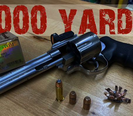 Высокоточная стрельба из револьвера Джерри Мичулека