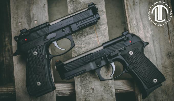 модифицированные пистолеты Beretta 92 в среднеразмерной и компактной версии