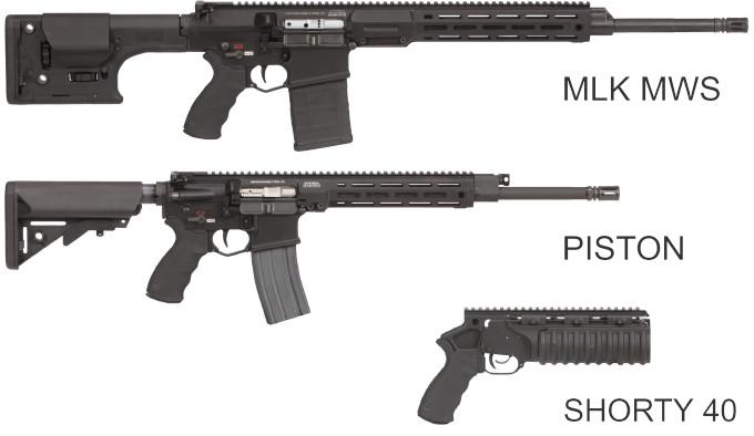 Винтовки и гранатомет LMT Defense