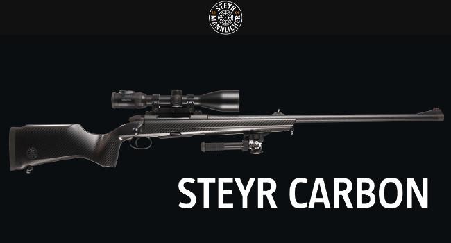 Новые винтовки Steyr Carbon