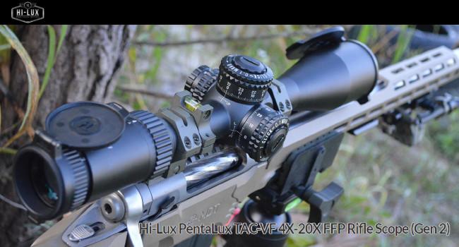Оптический прицел Hi-Lux PentaLux TAC-VF 4X-20X FFP Gen2