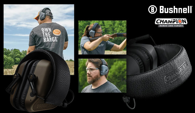активные защитные наушники для стрельбы из оружия